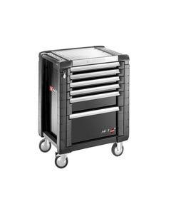 Jet.6GM3 Roller Cabinet 6 Drawer Black