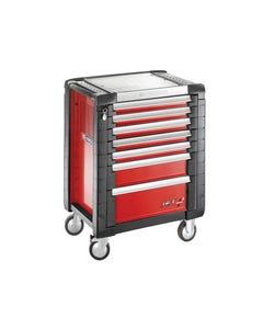 Jet.7M3 Roller Cabinet 7 Drawer Red