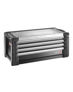 Jet.C4GM5 Roller Cabinet 4 Drawer Black