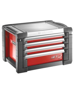 Jet.C4M3 Tool Chest 4 Drawer Red
