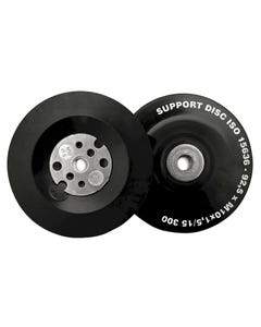 Angle Grinder Pad ISO Soft Flexible 100mm (4in) M10 x 1.50