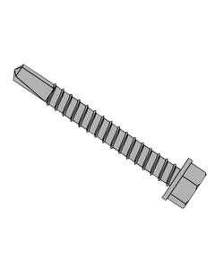 TechFast Roofing Sheet to Steel Hex Screw No.3 Tip 5.5 x 38mm Box 100
