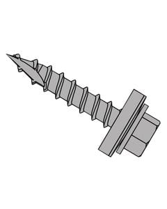 TechFast Metal Roofing to Timber Hex Screw T17 Gash Point 6.3 x 100mm Box 100