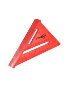 X55E Red Plastic Rafter Angle Square 175mm