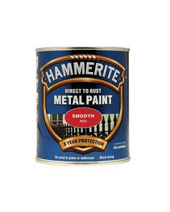 Direct to Rust Smooth Finish Metal Paint Red 750ml