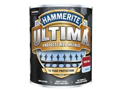 Ultima Metal Paint Smooth Ruby Red 750ml