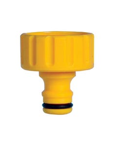 2158 Male Threaded Tap Connector 1in BSP Female Thread