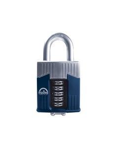 Warrior High-Security Open Shackle Combination Padlock 65mm
