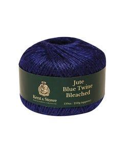 Jute Twine Bleached Blue 150m (250g)