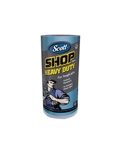 SCOTT® Blue Heavy-Duty Shop Cloth Roll