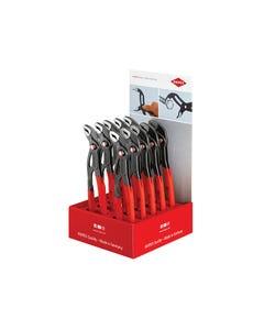 Knipex Cobra® Quickset Waterpump Pliers Counter Display (10 x KPX8721250)