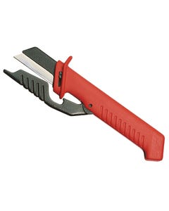 Cable Knife with Hinged Blade Guard