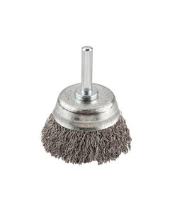 HSS Crimped Cup Brush 70mm Coarse
