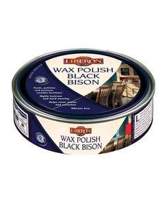 Wax Polish Black Bison Victorian Mahogany 500ml