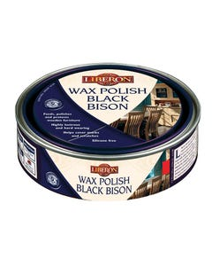 Wax Polish Black Bison Georgian Mahogany 500ml