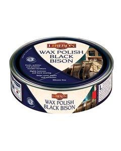 Wax Polish Black Bison Georgian Mahogany 150ml