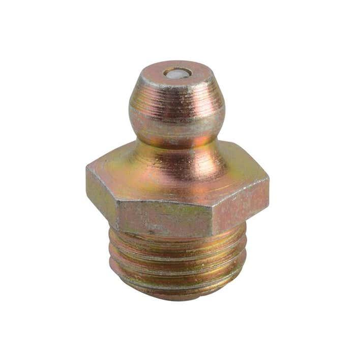 HF6 Hydraulic Nipple Straight 3/8 BSF