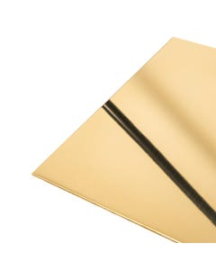 Brass Sheet 1mm bright polished