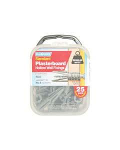 CF 111 Standard Plasterboard Fixings Pack of 25