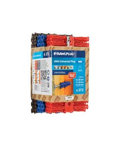 Uno Plugs Trade Mixed Pack of 272 + 3 Drills