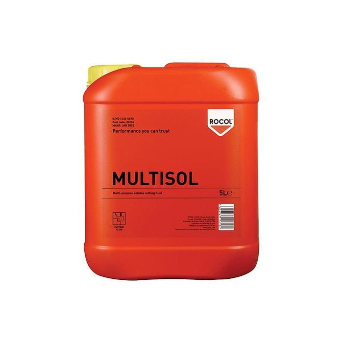 MULTISOL Water Mix Cutting Fluid 5 Litre