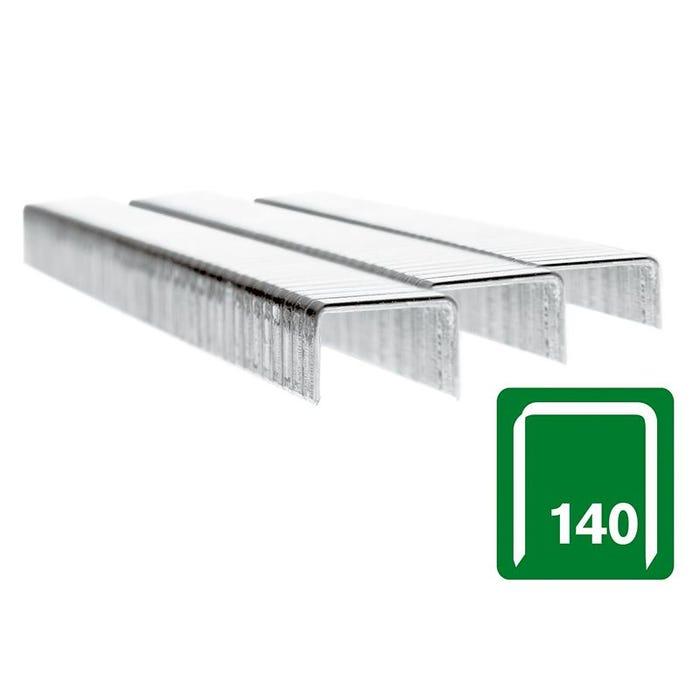 140/10 10mm Galvanised Staples Box 5000