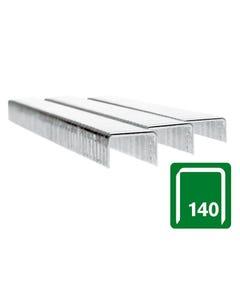 140/12 12mm Galvanised Staples Box 5000