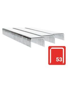 53/6B 6mm Galvanised Staples Box 2500