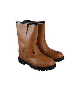 Texas Lined Tan Rigger Boots UK 6 Euro 39