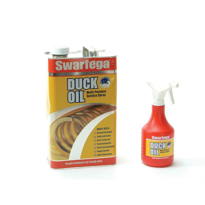 Duck Oil 5 Litre with Spray Applicator Bottle