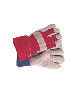 TGL106S All Round Rigger Gloves Navy/Red Ladies' - Small