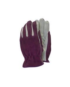 TGL114M Premium Leather & Suede Ladies' Gloves - Medium