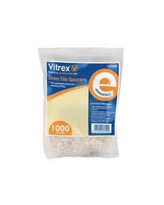 Essential Tile Spacers 2mm Pack of 1000