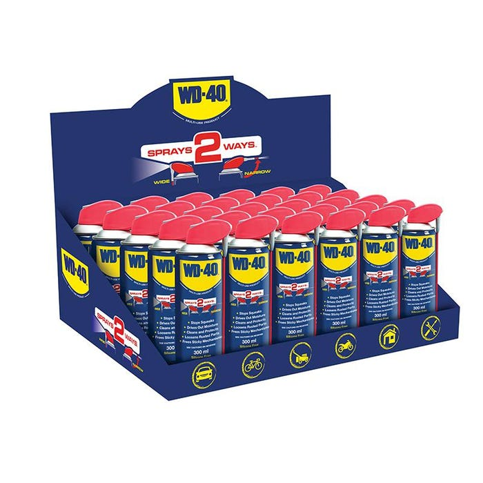 WD-40® Multi-Use Maintenance Smart Straw 300ml (Case of 30)