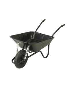 85L Black Easi-Load Builders Wheelbarrow