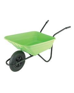 90L Lime Polypropylene Wheelbarrows