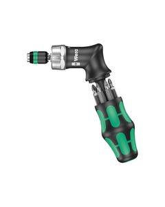 KK Pistol RA High Torque Ratchet Screwdriver & 6 Bits