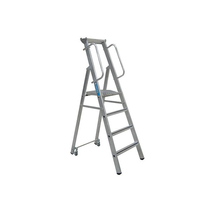 Mobile Mastersteps, Platform Height 2.07m 8 Rungs