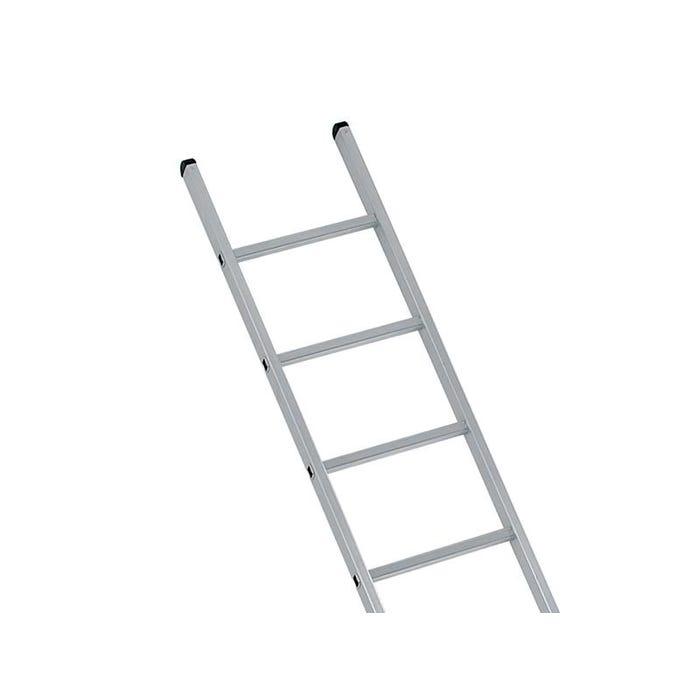 Industrial Single Aluminium Ladder with Stabiliser Bar 3.05m 10 Rungs