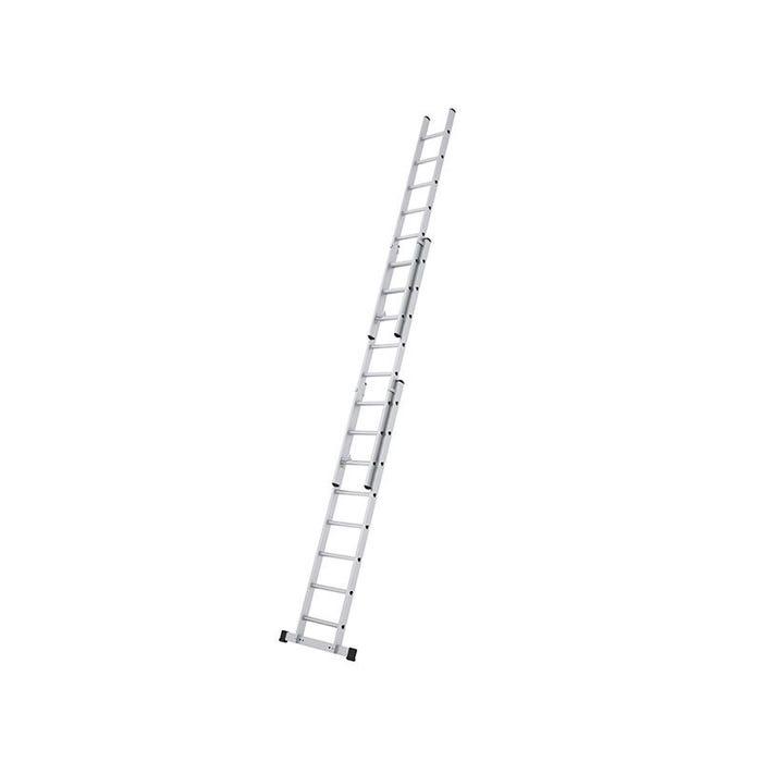 Everest 3DE 3-Part Extension Ladder D-Rungs 3 x 8