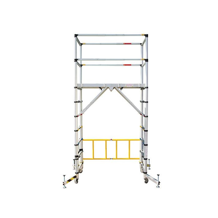TT002 Teletower Aluminium Telescopic Scaffold Tower with Toeboards