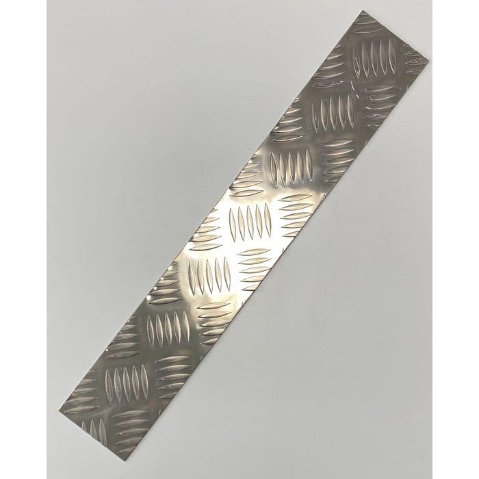 Aluminium 5 Bar Kick Plate 1.5mm
