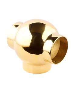 38mm Brass Ball Fittings Brass Tee 38mm