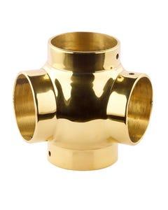 38mm Brass Ball Fittings Brass 135 Degree 38mm