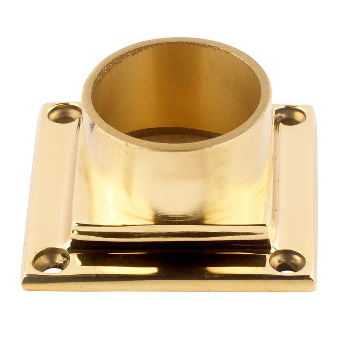 51mm Brass End Caps, Flanges & Finials Flange