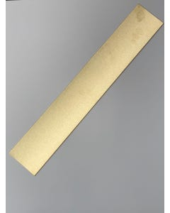 Brushed Polished Brass Kick Plate 0.9mm