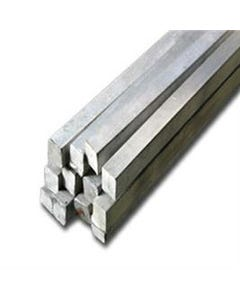 "EN8 Bright Mild Steel Square 1/2"" (12.7mm)"