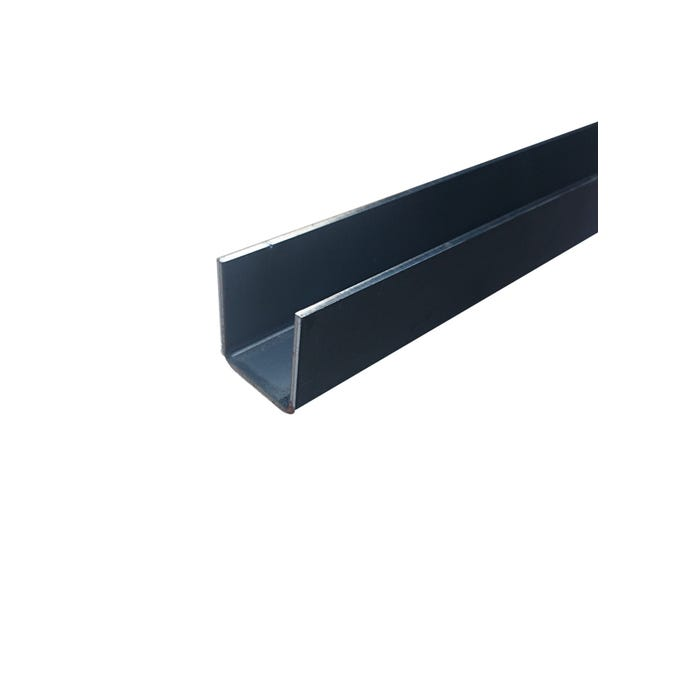 25mm x 25mm x 3mm Mild Steel Channel
