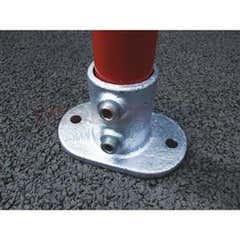 Tube Clamps - Fittings & Sockets 132 Railing Base Flange