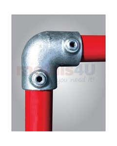 Tube Clamps - Fittings & Sockets 125 Two Way Elbow